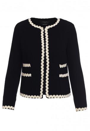 Пиджак с кромкой