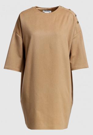 Платье из бленда кашемира