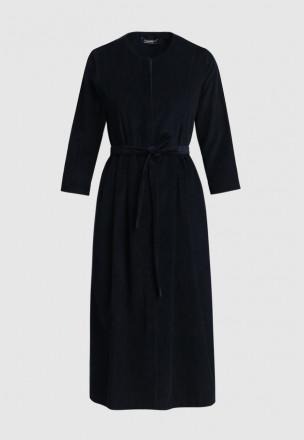 Вельветовое платье