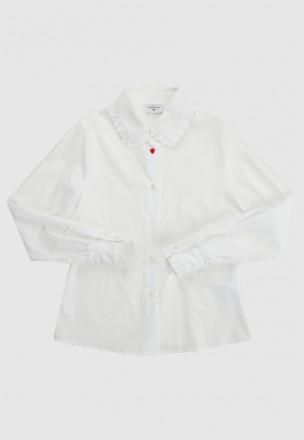 Рубашка с оборками