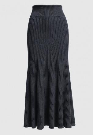 Вязаная юбка-годэ