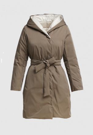 Двустороннее пуховое пальто