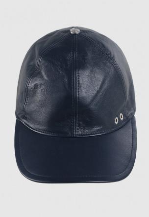 Кожаная кепка