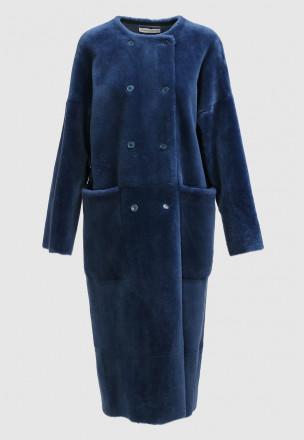 Меховое пальто из мутона Georges
