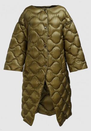 Стёганое пальто-трансформер
