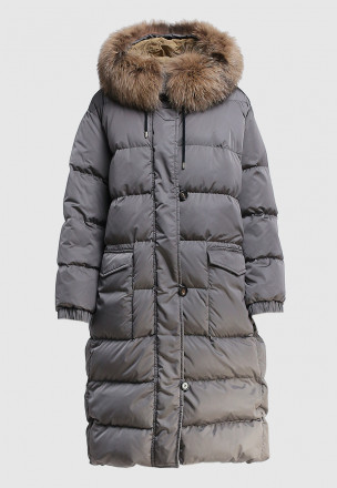 Cтёганое пальто