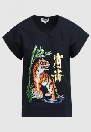 "Кимоно KENZO x KANSAIYAMAMOTO ""Fierce Tiger"""