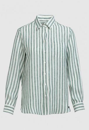Льняная рубашка