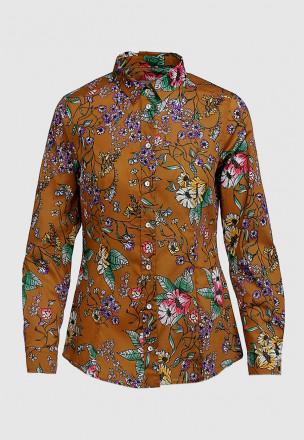 Рубашка в цветок