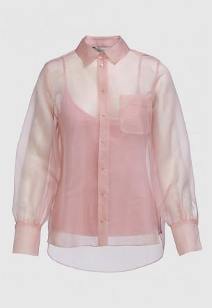 Рубашка из органзы