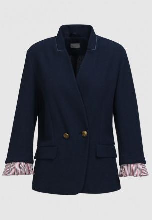 Пиджак из жоржета