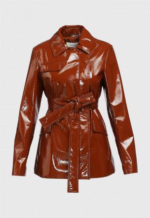 Виниловая куртка