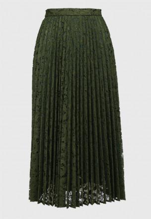 Ажурная юбка-плиссе