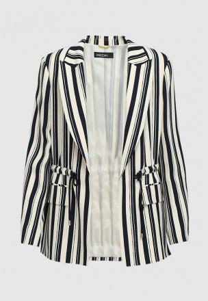 Пиджак с кулиской