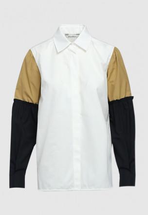 Рубашка colorblock