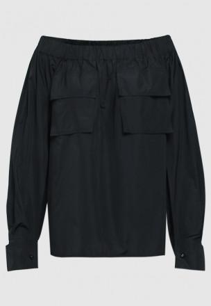 Рубашка с открытой линией плеч