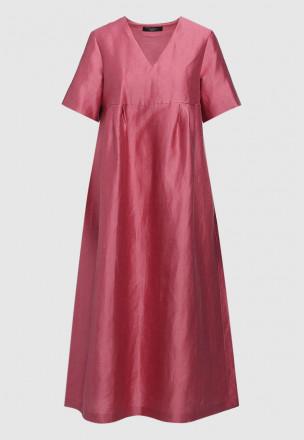 Платье-миди из тафты