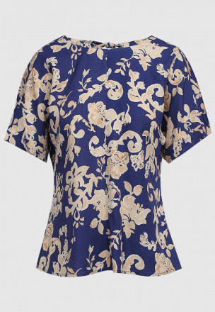 Блуза из твила