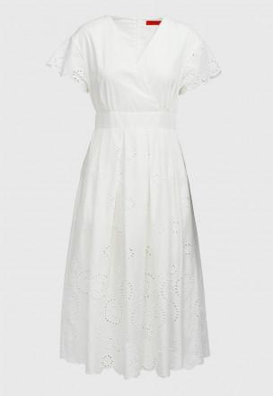 Платье с прошвой