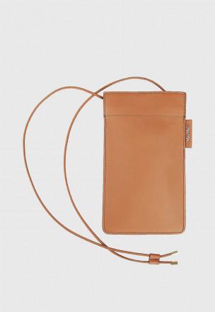 Кожаный холдер для телефона