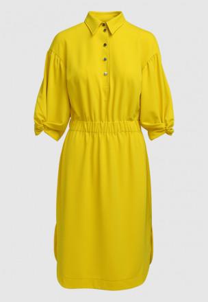 Платье из жаккардового джерси