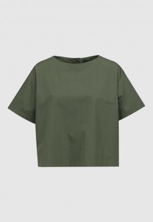 Блуза из поплина