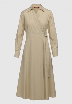 Платье-миди на запах
