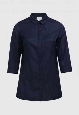 Рубашка из рогожки