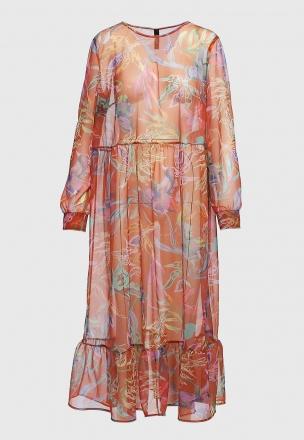 Шифоновое платье