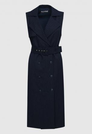 Двубортное платье