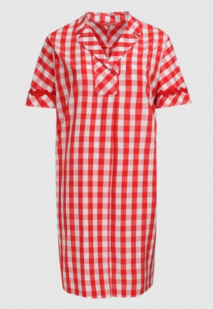 Платье в клетку «виши»