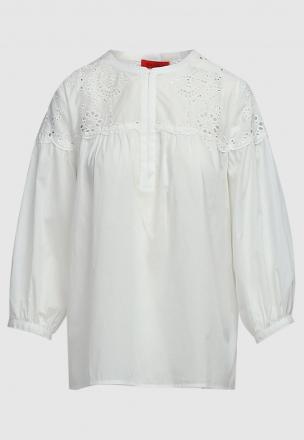 Блуза с прошвой