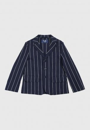 Пиджак в полоску