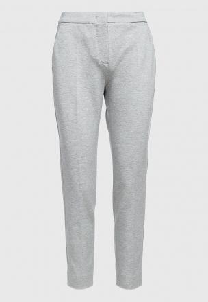 Укороченные брюки из джерси