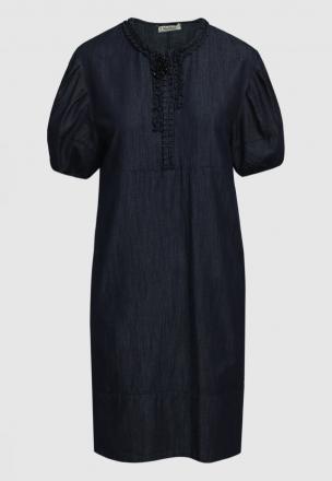 Платье из облегчённого денима