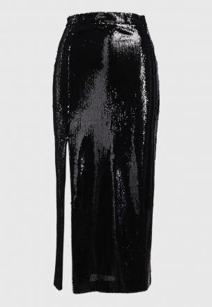 Юбка-карандаш с пайетками