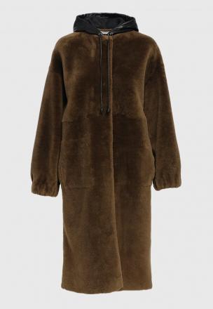 Меховое пальто из овчины Jacobin