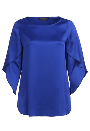 Блуза из креп-сатина