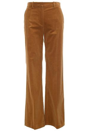 Вельветовые брюки-клёш