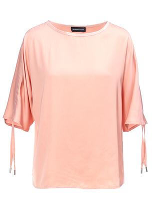 Блуза с затяжной драпировкой
