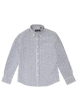 Рубашка с геометрическим рисунком