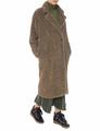 Меховое пальто oversize