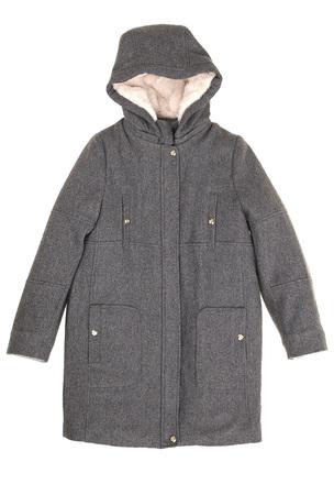 Пальто на утеплённой подкладе