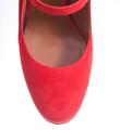 Туфли на фигурном каблуке