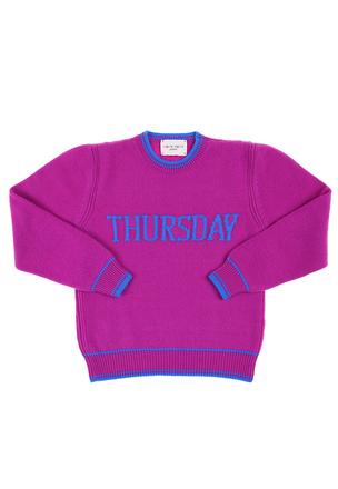 Вязаный свитер из шерсти и кашемира