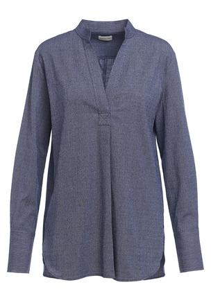Блуза из жатого хлопка