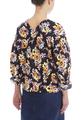 Блуза с цветочным рисунком
