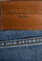 Укороченные джинсы-слим