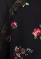 Блуза-реглан с цветочным принтом
