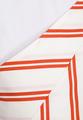 Асимметричное платье в полоску